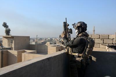 Street battles in Mosul