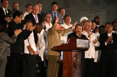 Havana hosts massive tribute to Fidel
