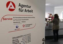 Le nombre de chômeurs a enregistré une baisse au mois de novembre à 2,658 millions, le taux de chômage de la première économie européenne est resté stable. Le taux de chômage s'est maintenu à 6,0%, au plus bas depuis la réunification de 1990. /Photo d'archives/REUTERS/Vincent Kessler