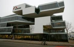 A general view shows Swiss biotech group Actelion Headquarters in Allschwil near Basel February 17, 2015.   REUTERS/Arnd Wiegmann