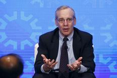 New York Fed President William Dudley takes part in a panel convened to speak about the health of the U.S. economy in New York, U.S. on November 18, 2015. REUTERS/Lucas Jackson/File Photo