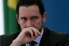 Ministro durante evento no Planalto  2/6/2016 REUTERS/Ueslei Marcelino