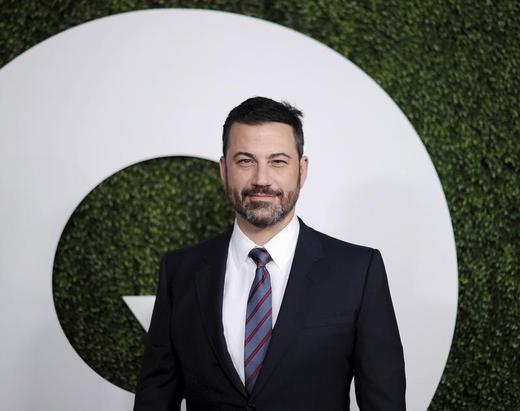 Television host Jimmy Kimmel poses during the GQ Men of the Year party in West Hollywood, California. Photo: Kevork Djansezian / Reuters