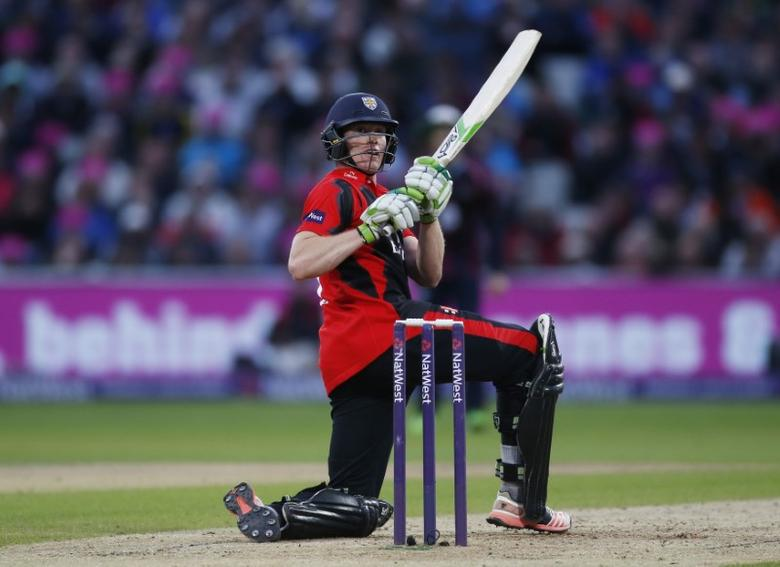 FILE PHOTO - Britain Cricket - NatWest T20 Blast Finals Day - Edgbaston - 20/8/16Durham's Keaton Jennings in actionAction Images via Reuters / Paul Childs
