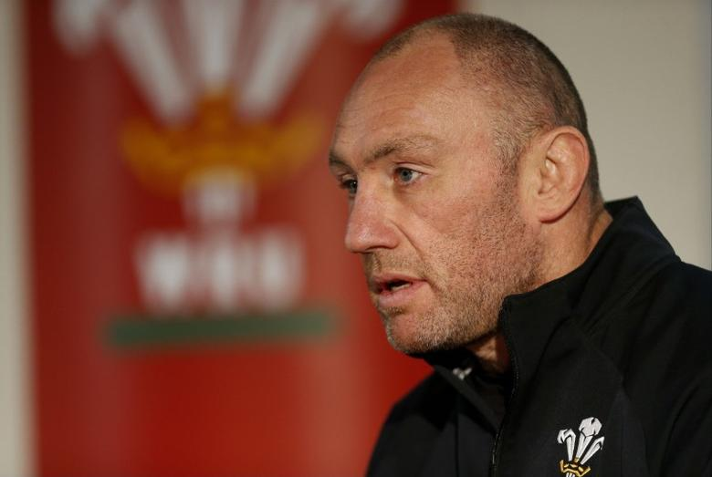 Rugby Union - Wales Press Conference - Millennium Stadium, Cardiff, Wales - 15/3/13 Wales forwards coach Robin McBryde during the press conference Mandatory Credit: Action Images / Paul Harding