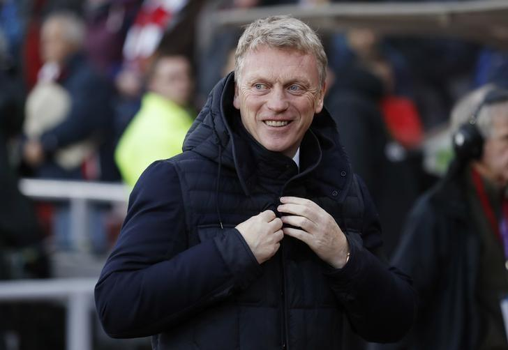 Britain Football Soccer - Sunderland v Leicester City - Premier League - The Stadium of Light - 3/12/16 Sunderland manager David Moyes before the match  Reuters / Russell Cheyne/ Livepic/ Files
