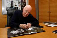 Jean-Claude Biver, Chief Executive Executive of Tag Heuer and LVMH's head of watches, poses at his office in Paris, France, December 8, 2016. Picture taken December 8, 2016   REUTERS/Jacky Naegelen