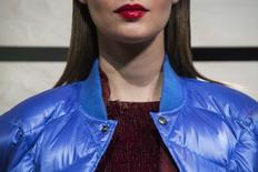 FILE PHOTO - A model presents a creation from the J. Crew Fall 2014 collection during New York Fashion Week February 11, 2014. REUTERS/Eric Thayer
