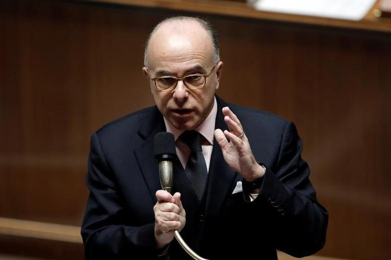 Newly appointed French Prime Minister Bernard Cazeneuve speaks during the questions to the government session at the National Assembly in Paris, France, December 7, 2016. REUTERS/Benoit Tessier