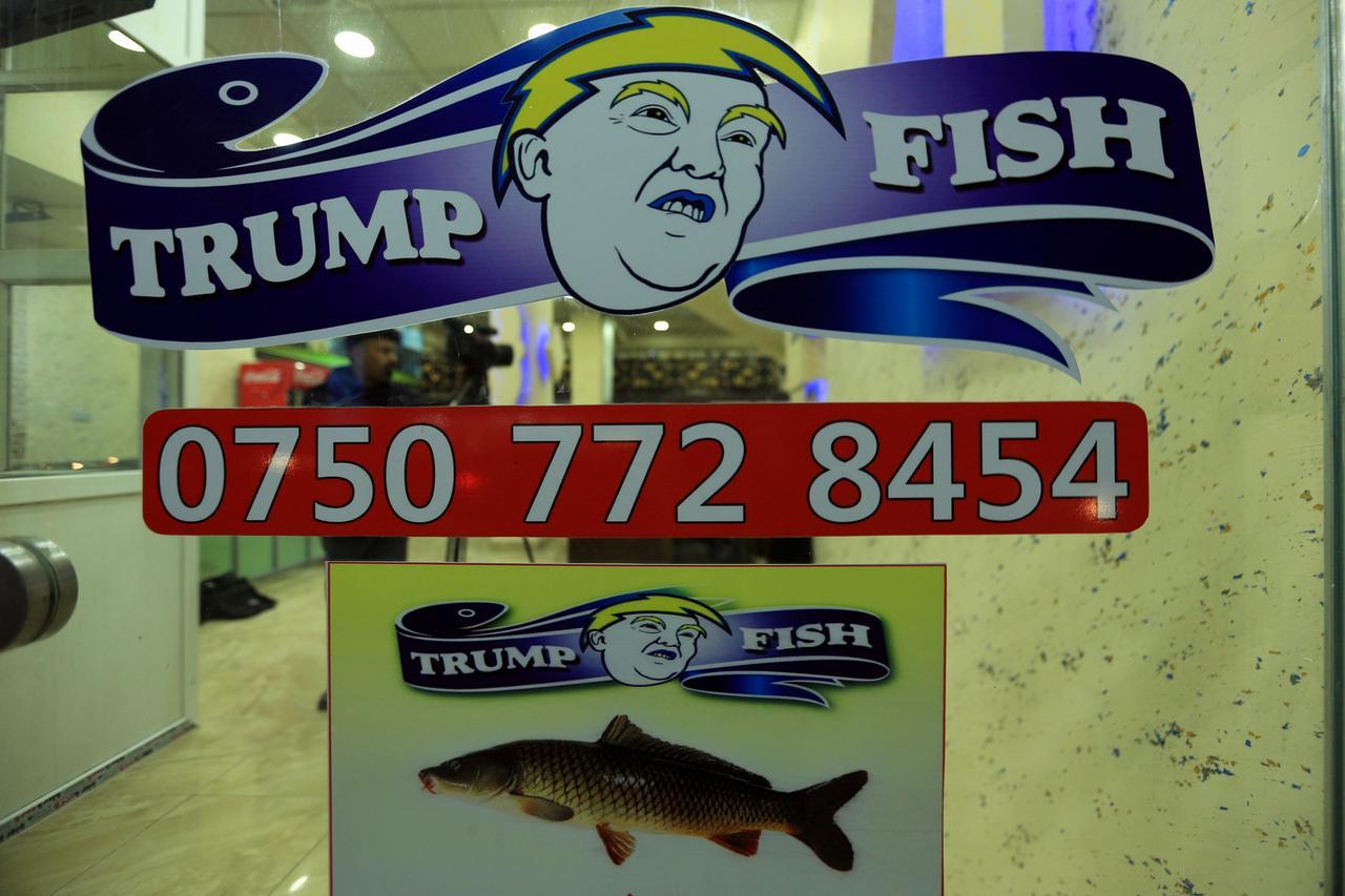 Trump Fish: Iraqi restaurant spells out Kurdish faith in