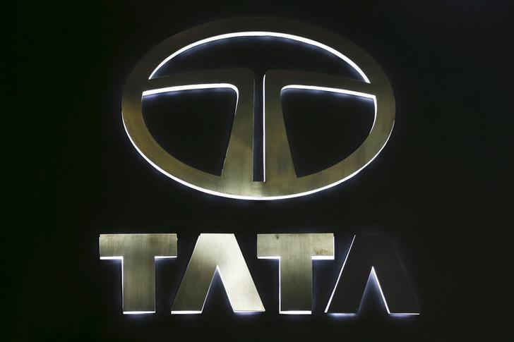 The logo of Tata Motors is pictured at at the 37th Bangkok International Motor Show in Bangkok, Thailand, March 22, 2016.  REUTERS/Chaiwat Subprasom/File Photo