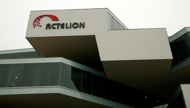 A general view shows Swiss biotech group Actelion Headquarters in Allschwil near Basel, Switzerland, February 17, 2015.    REUTERS/Arnd Wiegmann/Files