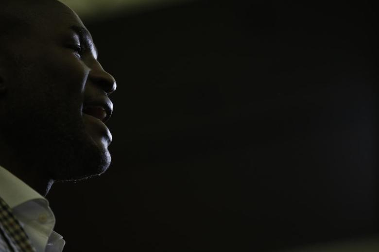 Bernard Hopkins during the press conference Action Images via Reuters / Andrew Couldridge Livepic