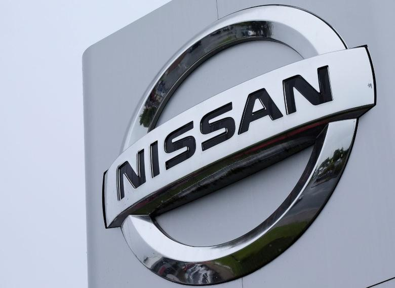 A Nissan logo is pictured at a car dealership in Sunderland, Britain June 29, 2016.  REUTERS/Andrew Yates/File Photo