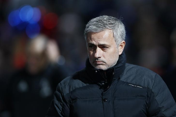 Crystal Palace v Manchester United - Premier League - Selhurst Park - 14/12/16 Manchester United manager Jose Mourinho Reuters / Stefan Wermuth Livepic