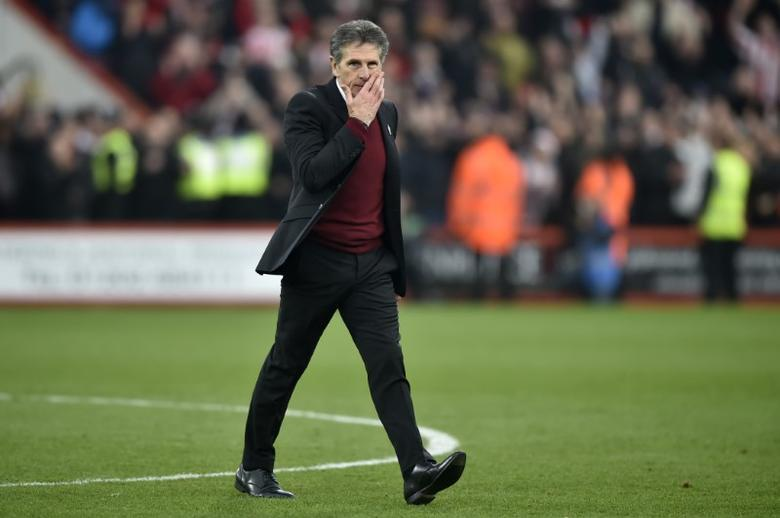 Britain Football Soccer - AFC Bournemouth v Southampton - Premier League - Vitality Stadium - 18/12/16 Southampton manager Claude Puel at the end of the match  Reuters / Hannah McKay Livepic