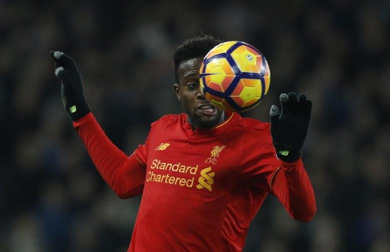 Football Soccer Britain - Liverpool v West Ham United - Premier League - Anfield - 11/12/16 Liverpool's Divock Origi in action  Reuters / Phil Noble Livepic