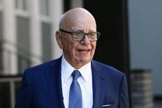 Media mogul Rupert Murdoch leaves his home in London, Britain March 4, 2016. REUTERS/Stefan Wermuth