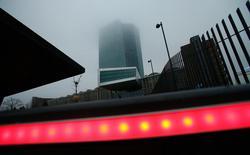 La sede della Banca Centrale Europea a Francoforte. Foto dell'8 dicembre scorso. REUTERS/Ralph Orlowski