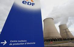 Le groupe japonais Jera, coentreprise entre les compagnies d'électricité Tokyo Electric Power et Chubu Electric Power, a signé un accord définitif en vue de l'acquisition de l'activité de trading de charbon d'EDF. /Photo d'archives/REUTERS/Régis Duvignau
