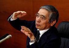 Presidente do Banco do Japão, Haruhiko Kuroda.    01/11/2016       REUTERS/Kim Kyung-Hoon/