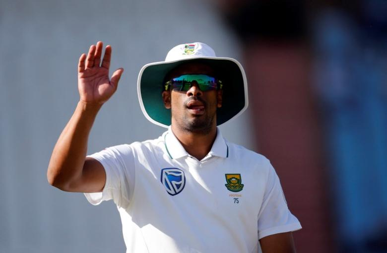 Cricket - New Zealand v South Africa - second cricket test match - Centurion Park, Centurion, South Africa - 30/8/2016. South Africa's Vernon Philander gestures. REUTERS/Siphiwe Sibeko  Picture Supplied by Action Images