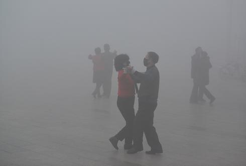 Living in the smog of China