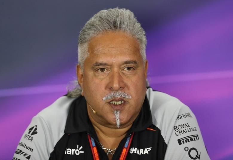 Britain Formula One - F1 - British Grand Prix 2016 - Silverstone, England - 8/7/16Force India team principal Vijay Mallya during the press conferenceAction Images via Reuters / Matthew ChildsLivepic