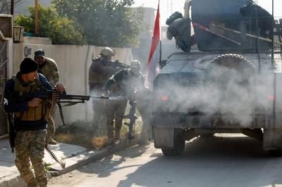 Street battles of Mosul
