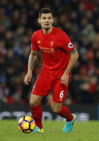 Britain Football Soccer - Liverpool v Manchester City - Premier League - Anfield - 31/12/16 Liverpool's Dejan Lovren  Reuters / Phil Noble Livepic