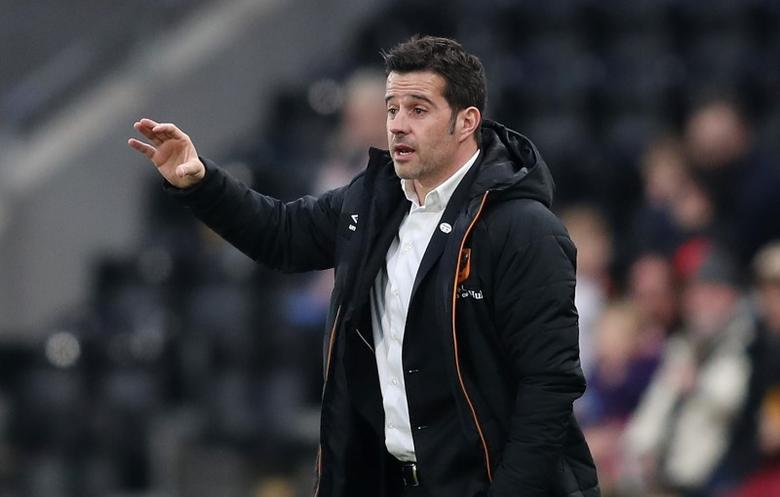 Britain Football Soccer - Hull City v Swansea City - FA Cup Third Round - The Kingston Communications Stadium - 7/1/17 Hull City manager Marco Silva  Action Images via Reuters / John Clifton Livepic