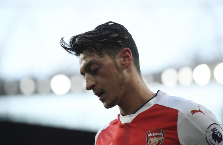 Britain Soccer Football - Arsenal v West Bromwich Albion - Premier League - Emirates Stadium - 16/17 - 26/12/16 Arsenal's Mesut Ozil Reuters / Toby Melville/Files