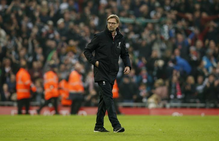 Britain Football Soccer - Liverpool v Plymouth Argyle - FA Cup Third Round - Anfield - 8/1/17 Liverpool manager Juergen Klopp after the match  Reuters / Andrew Yates Livepic