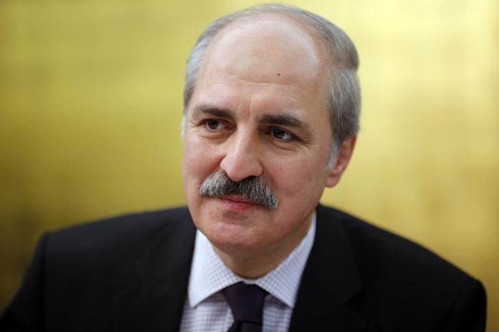 Numan Kurtulmus talks to foreign media in Ankara January 21, 2014. REUTERS/Umit Bektas/Files