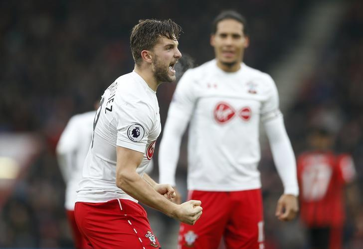 Britain Football Soccer - AFC Bournemouth v Southampton - Premier League - Vitality Stadium - 18/12/16 Southampton's Jay Rodriguez celebrates scoring their second goal Action Images via Reuters / Andrew Couldridge Livepic/Files