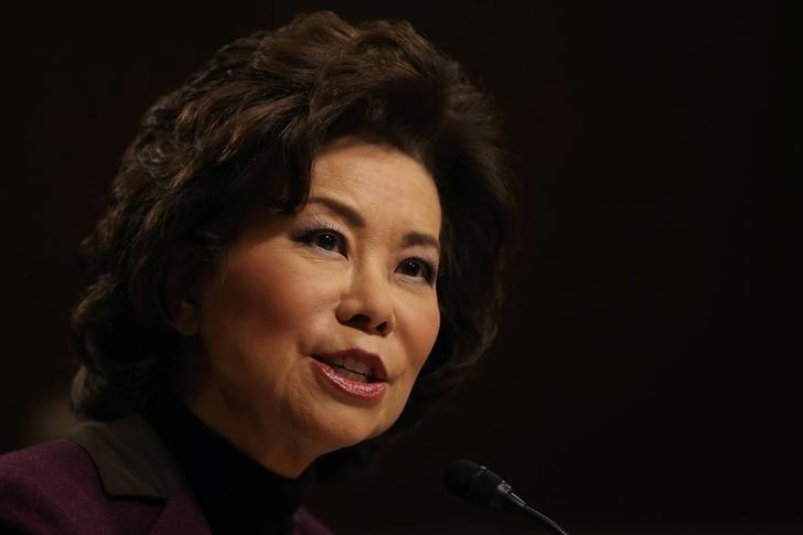 'Deeply Troubled' Transportation Secretary Elaine Chao Resigns After Captiol Riot