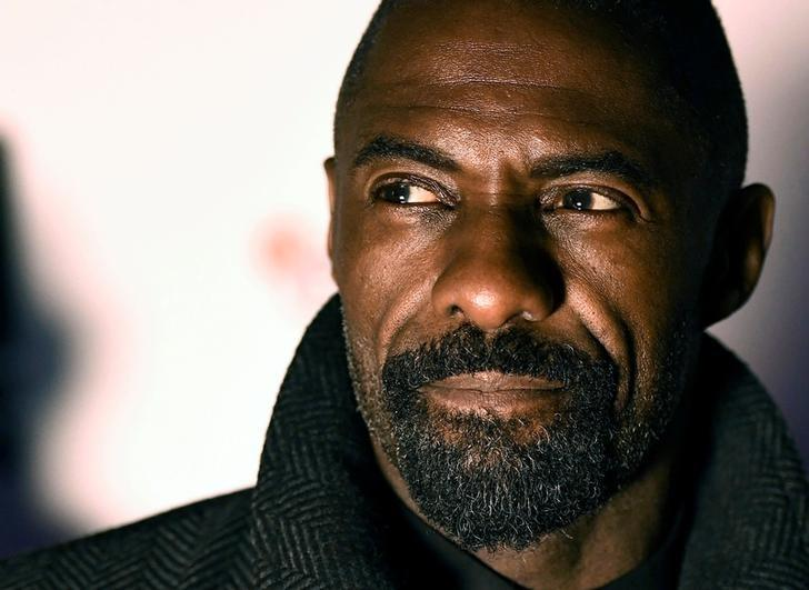 Idris Elba poses as he arrives for the UK premiere of ''100 Streets'' at BFI Southbank in London, Britain November 8, 2016. REUTERS/Dylan Martinez/Files