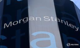 Morgan Stanley a reçu le feu vert des autorités chinoises de régulation des marchés financiers pour renforcer sa participation dans sa coentreprise locale spécialisée dans les valeurs mobilières. /Photo d'archives/REUTERS/Mike Segar