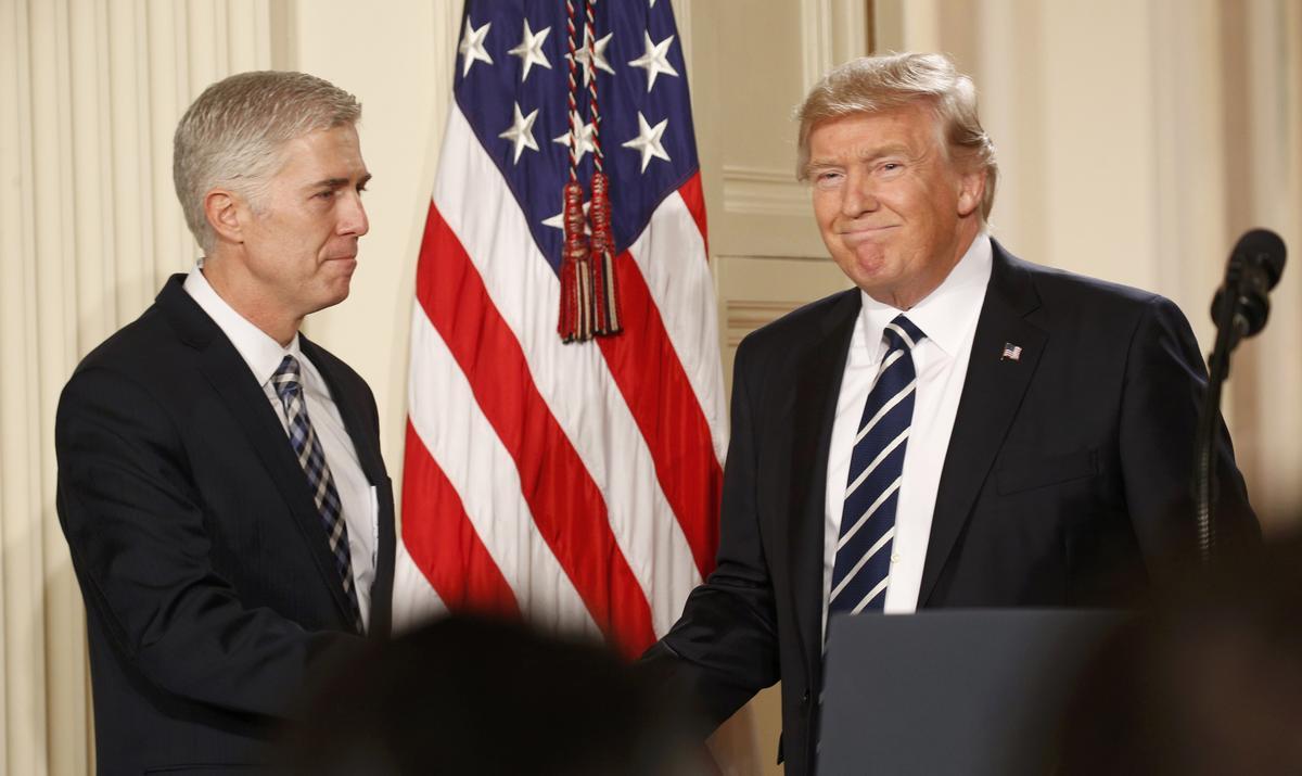 US President Donald Trump announced SC Judge