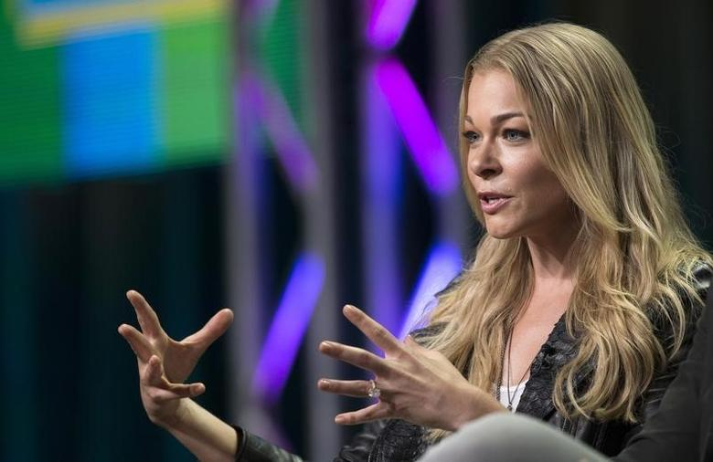 LeAnn Rimes speaks during a panel for the VH1 television series ''LeAnn & Eddie'' during the Television Critics Association Cable Summer Press Tour in Beverly Hills, California July 11, 2014. REUTERS/Mario Anzuoni/Files