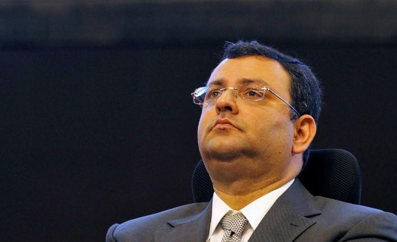FILE PHOTO: Tata Group chairman Cyrus Mistry attends the ''Vibrant Gujarat Summit'' at Gandhinagar in the western state of Gujarat, India, January 12, 2013. To match Insight TATA SONS-MANAGEMENT/ REUTERS/Amit Dave/File Photo