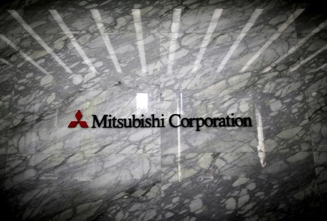 2月10日、三菱商事は、ローソンに対する株式公開買い付け(TOB)を終了、子会社化したと発表した。写真は三菱商事のロゴ。都内で昨年4月撮影(2017年 ロイター/Issei Kato)