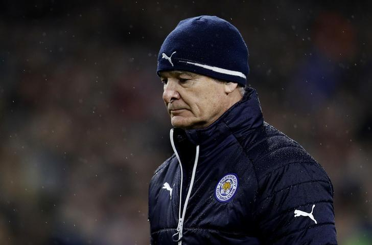 Britain Football Soccer - Burnley v Leicester City - Premier League - Turf Moor - 31/1/17 Leicester City manager Claudio Ranieri looks dejected after the match Reuters / Darren Staples Livepic