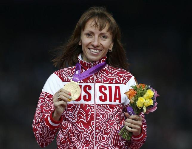 2月10日、スポーツ仲裁裁判所は、2012年ロンドン五輪の陸上女子800メートルで優勝したマリヤ・サビノワ(写真)の金メダルを剥奪した。ロンドンで2012年8月撮影(2017年 ロイター/Eddie Keogh)