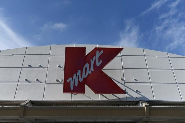 A Kmart department store is seen in Killeen, Texas, U.S., January 5, 2017.  REUTERS/Mohammad Khursheed