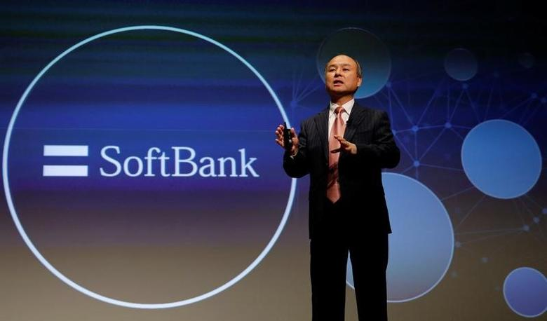 SoftBank Group Corp Chairman and CEO Masayoshi Son attends a news conference in Tokyo, Japan, February 8, 2017.    REUTERS/Toru Hanai