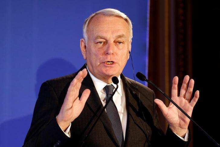 France's Foreign Minister Jean-Marc Ayrault speaks during a news conference at the Quai d'Orsay in Paris, France, December 20, 2016.   REUTERS/Charles Platiau/Files