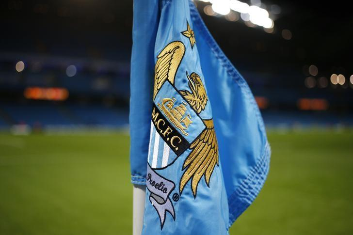 Football Soccer - Manchester City v Hull City - Capital One Cup Quarter Final - Etihad Stadium - 1/12/15General View of corner flag at the Etihad StadiumReuters / Phil NobleLivepic/Files