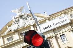 Un'immagine del ministero dell'Economia.   REUTERS/Alessandro Bianchi