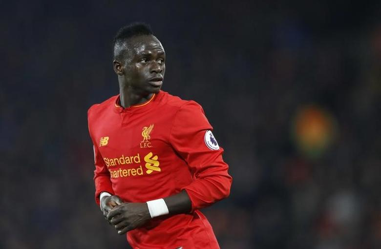 Britain Soccer Football - Liverpool v Tottenham Hotspur - Premier League - Anfield - 11/2/17 Liverpool's Sadio Mane  Action Images via Reuters / Carl Recine Livepic/Files